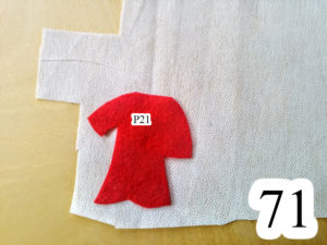 numbered-redo-Jesus-place-back-robe-on-interfacing-Jesus-walking-water