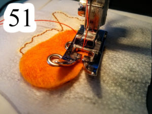 numbered-redo-orange-fish-sew-back-on-front-Jesus-walking-water